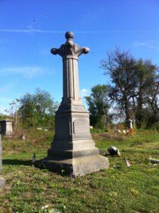 "Col. William ""Buck"" McCandless monument at Mount Moriah Cemetery"
