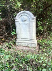 Sergeant David Linn headstone at Mount Moriah Cemetery