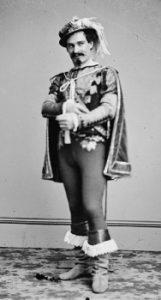 Actor John McCullough in costume
