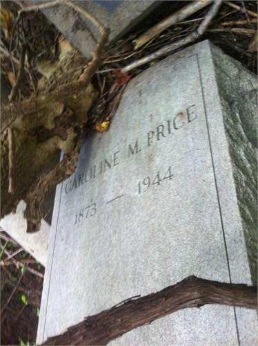 Caroline Marqueze Halliday Price grave marker (09-01-14-03-08-49)