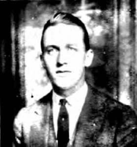 Black and white photo of William Reed Hapgood