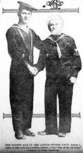 Adolph Lowe, Civil War and WWI Veteran