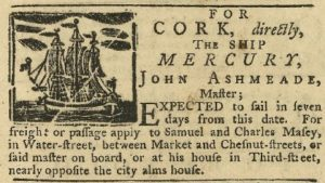 Newspaper clipping about Captain John Ashmead