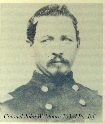 Col. John William Moore, Civil War Field Officer