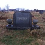 "William Cusick aka ""Micky Duffy"" headstone"