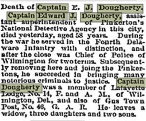 Capt. Edward J. Dougherty Obituary