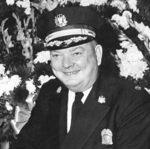 Black and white photo of Col. Frank McAnally Wallace in uniform