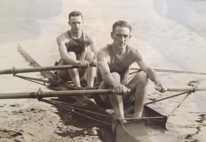 William Reed Hapgood participating in scull racing