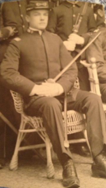 Herman Gustav Hillebrand in military uniform