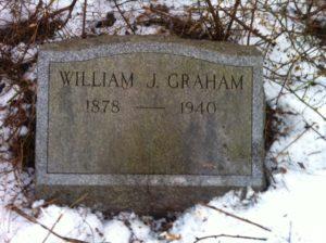 William J. Graham's headstone at Mount Moriah Cemetery in Philadelphia, Pennsylvania