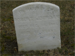 Robert Jordan headstone at Mount Moriah Cemetery in Philadelphia, Pennsylvania