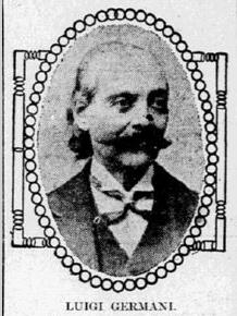 Luigi Germani, Circus Performer