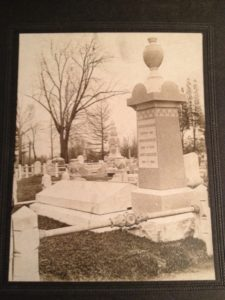 Head of Hillebrand family grave