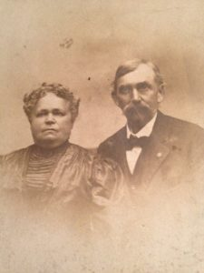 Herman G. and his wife Amelia Mary Bassler Hillebrand in senior years