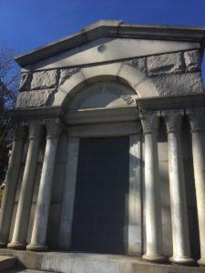Jonathon Prichard plot at Mount Moriah Cemetery in Philadelphia, Pennsylvania