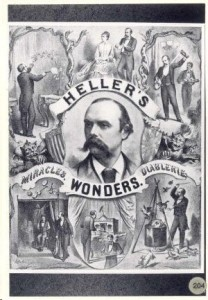 Black and white advertisement for Heller's Wonders