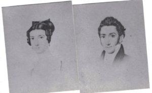 Photos of John C. B. Standbridge and his wife