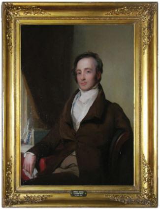 Framed portrait of Thomas Kittera